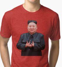 Kim Jong Izz-Ung Tri-blend T-Shirt