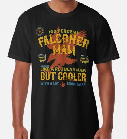 Fun Falconry Mam Gifts and Clothing for Hawking Mams and Falconry Mothers Long T-Shirt