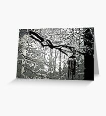 Wind Chime Greeting Card
