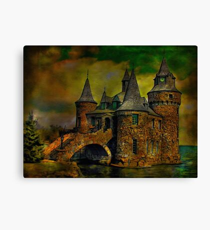 ...castle Canvas Print