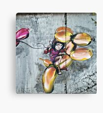 Koons was playing the game Canvas Print