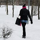 GO in SNOWING by Antanas