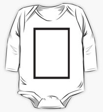 THE 1975 - BLACK RECTANGLE One Piece - Long Sleeve