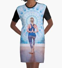 The Yogi Graphic T-Shirt Dress