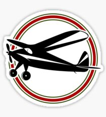 Vintage airplane Sticker
