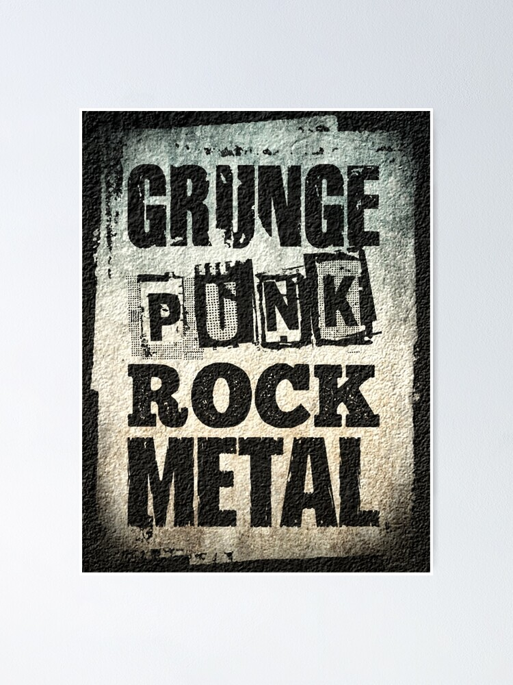 And grunge punk Difference Between