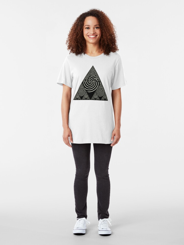 Alternate view of Sierpinski VI Slim Fit T-Shirt