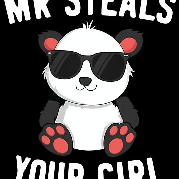 Mr Steals Your Girl Valentines Day T-Shirt for Boys Kids by 14thFloor