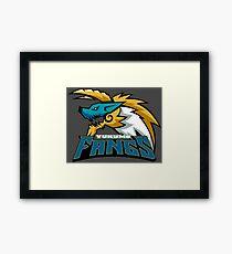 Yukumo FANGS Framed Print