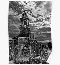 St George's Church & graveyard Poster