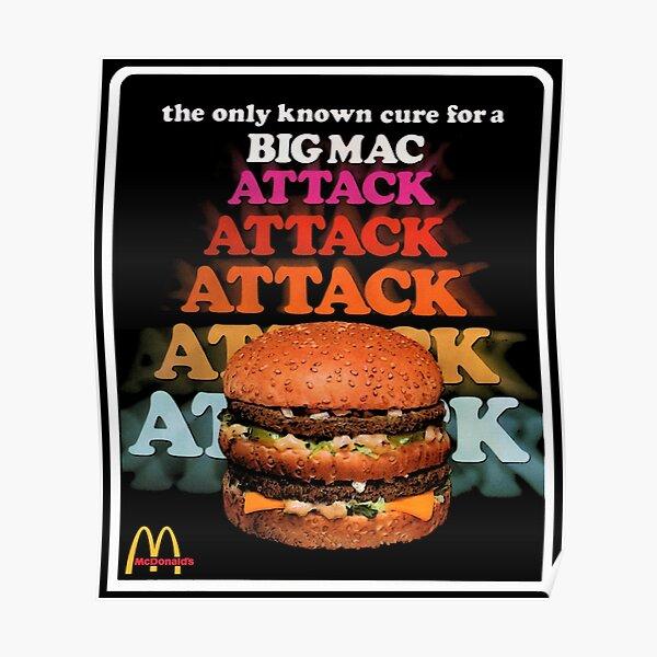 Big Mac Attack Poster