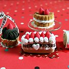 Strawberry Set : Clayworks by Bua S. by BuaS