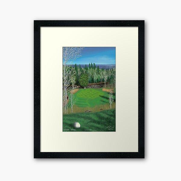 Superior National Canyon #8 Framed Art Print