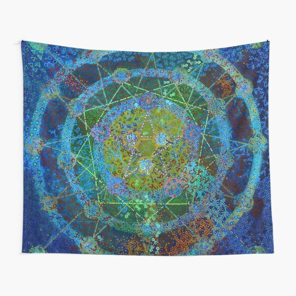 Alchemist's Compass Tapestry