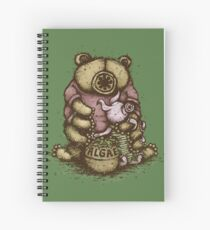 Tardipooh and Moss Piglet Spiral Notebook