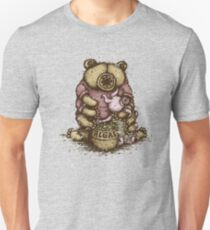 Tardipooh and Moss Piglet Slim Fit T-Shirt