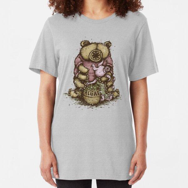 Tardipooh and Moss Piglet Slim Fit T-Shirt