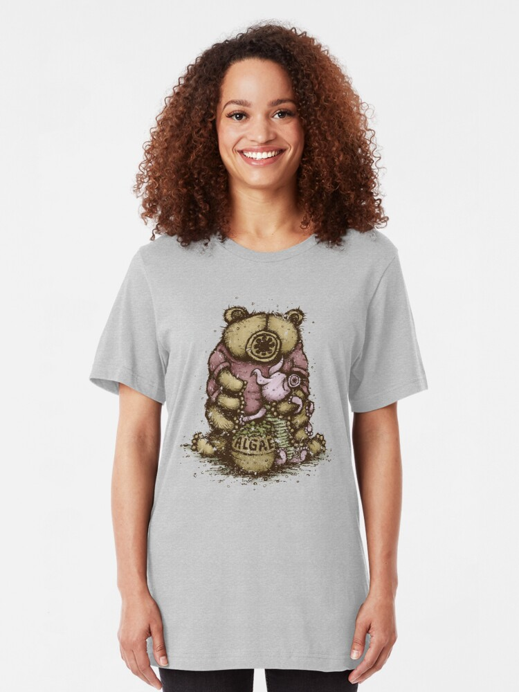 Alternate view of Tardipooh and Moss Piglet Slim Fit T-Shirt