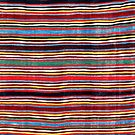 Qashqa'i Antique Fars South West Persia Striped Kilim  by Vicky Brago-Mitchell