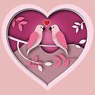 Love Birds by Keith G. Hawley