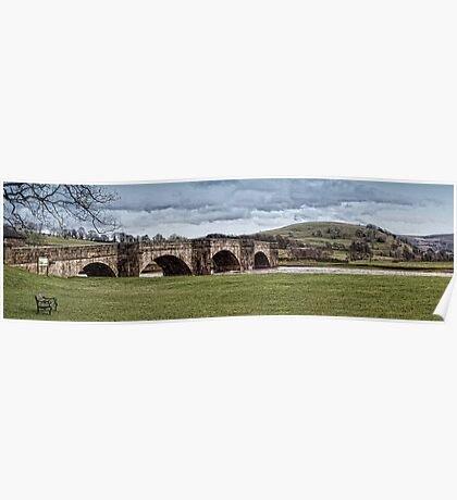 Burnsall Bridge Poster