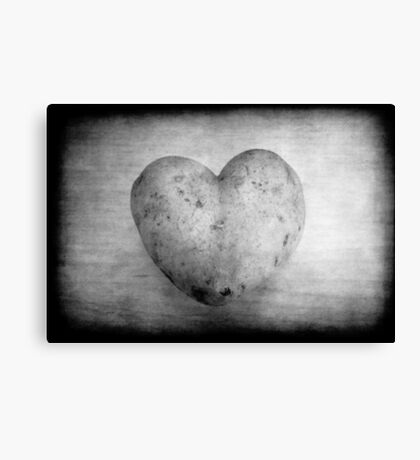 Potato of love Canvas Print