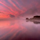 Maori Bay Fire  by earlcooknz