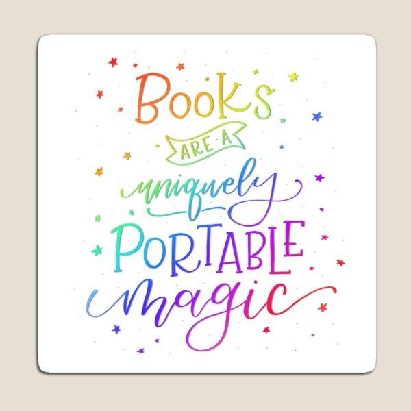 Books are Rainbow Magic Magnet