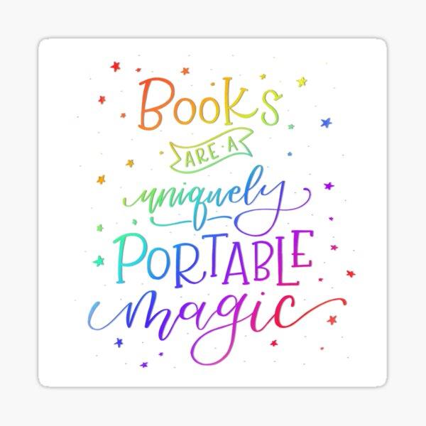 Books are Rainbow Magic Sticker