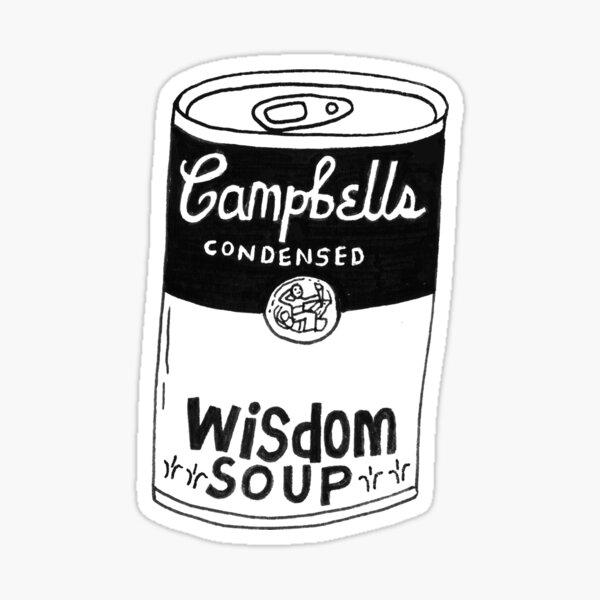 Wisdom Soup Sticker