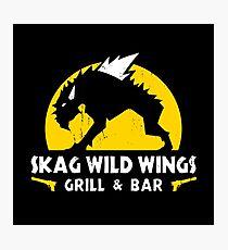 Skag Wild Wings Photographic Print
