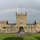 Rainbow over Culzean by ElsT