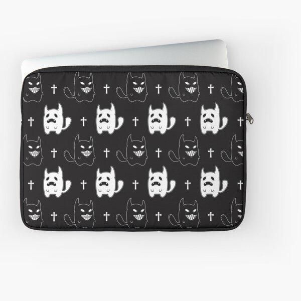 Ghost & Demon Cats Laptop Sleeve