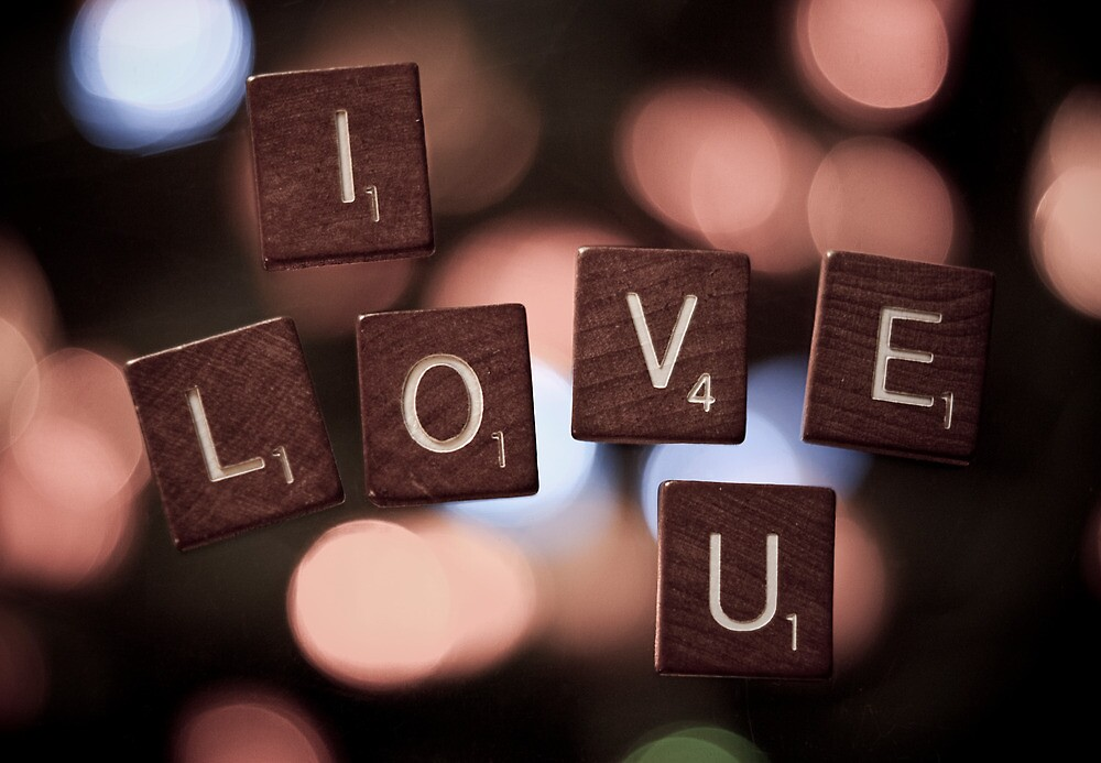 I Love U by Johanne Brunet