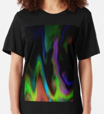 Drifting Gaseous Clouds Slim Fit T-Shirt