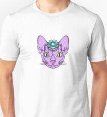 Camiseta unisex Gato de loto