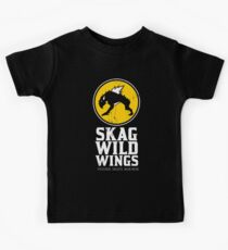 Skag Wild Wings (alternate) Kids Tee