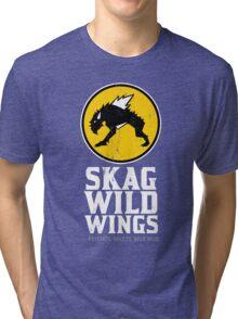 Skag Wild Wings (alternate) Tri-blend T-Shirt