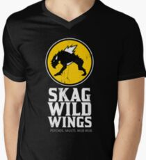 Skag Wild Wings (alternate) Men's V-Neck T-Shirt