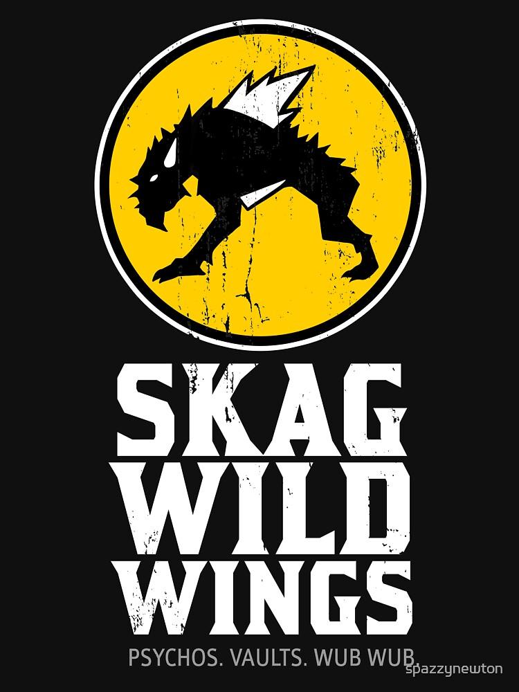 Skag Wild Wings (alternate) by spazzynewton