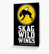 Skag Wild Wings (alternate) Greeting Card