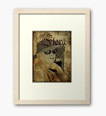 A Touch of Parisienne Framed Print