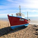 Fishing Boat by Leon Woods