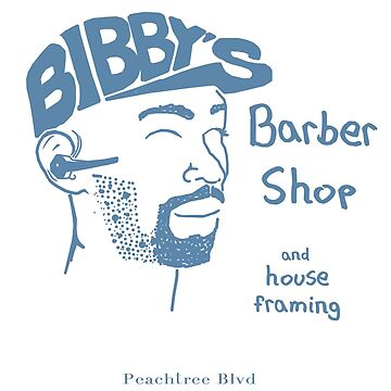 Bibby the Barber, Atlanta  by BartsGeekGifts