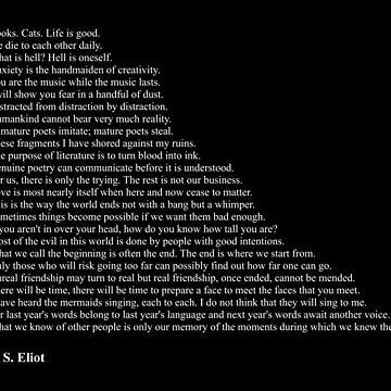 T. S. Eliot Quotes by qqqueiru