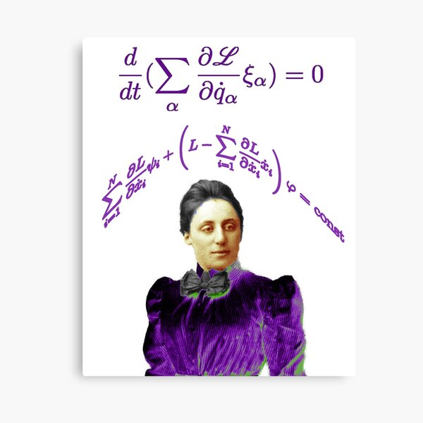 Emmy Noether Canvas Print