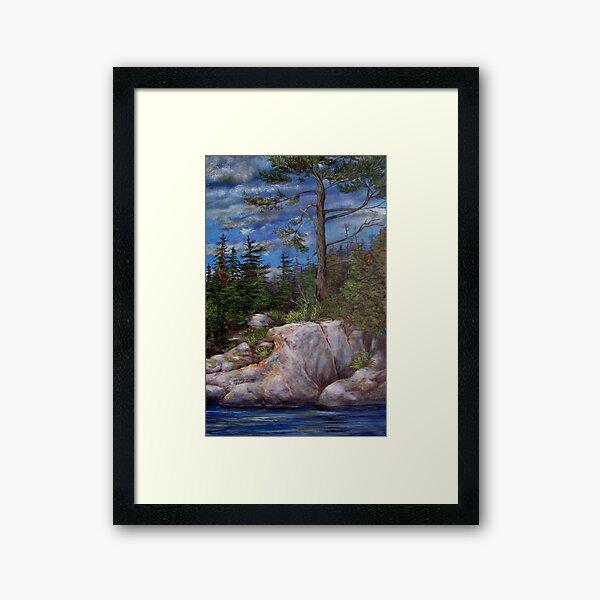 Guardian on the Shore Framed Art Print