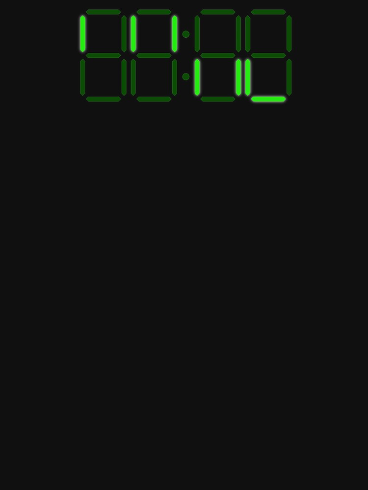 Loss - Digital Clock by TalenLee