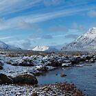 Glencoe Winter Panorama by derekbeattie