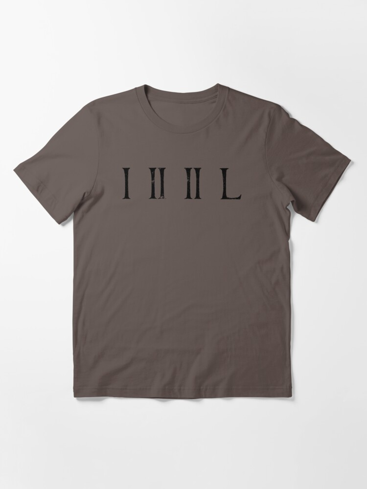 Alternate view of Loss - Numerals Essential T-Shirt